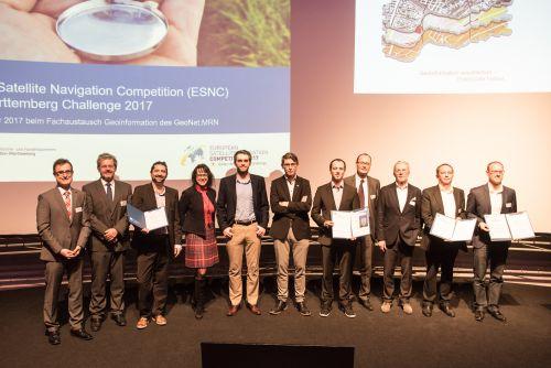 dd948a7758089 Die Preisträger des ESNC-BW 2017 bei der Preisverleihung in Heidelberg.  Quelle  Susanne Lencinas Fotografie